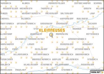 map of Kleinneuses