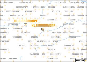 map of Kleinnondorf