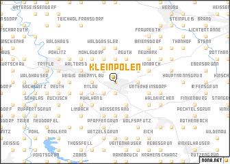 map of Kleinpolen