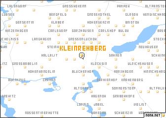 map of Klein Rehberg
