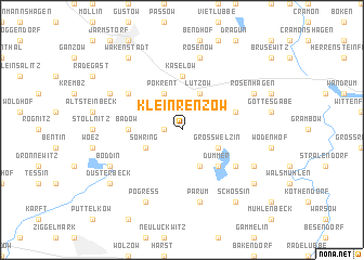 map of Klein Renzow