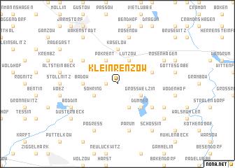 map of Klein Renzow