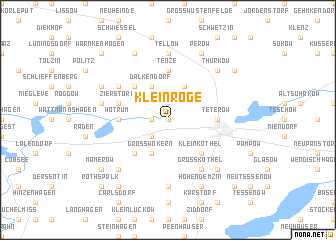 map of Klein Roge