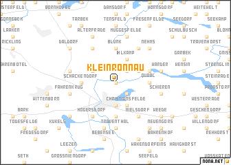 map of Klein Rönnau