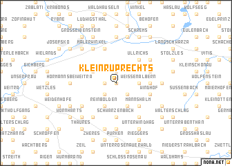map of Kleinruprechts