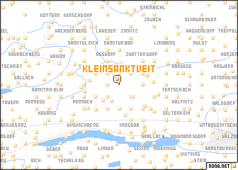 map of Klein Sankt Veit