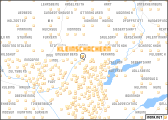 map of Kleinschachern