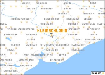 map of Klein-Schlamin