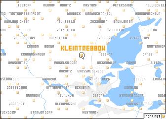 map of Klein Trebbow