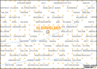 map of Kleinvelden