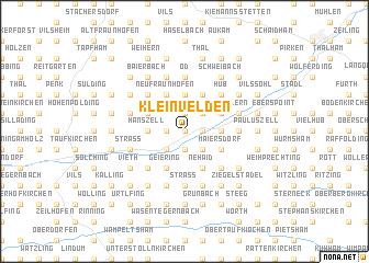 map of Kleinvelden