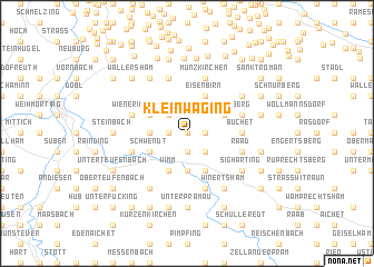 map of Kleinwaging
