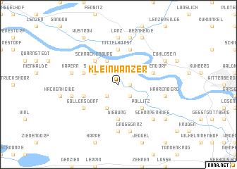 map of Klein Wanzer