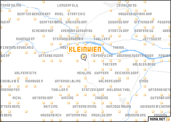 map of Kleinwien