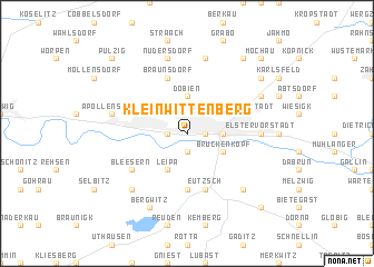 map of Kleinwittenberg