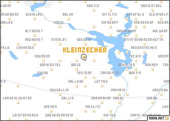 map of Klein Zecher