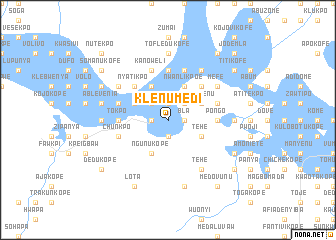 map of Klenumedi