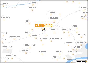 map of Kleshnino