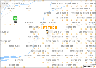 map of Klettham