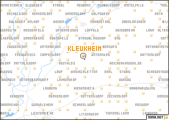 map of Kleukheim