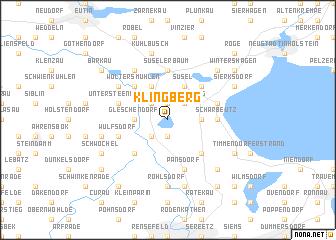 map of Klingberg