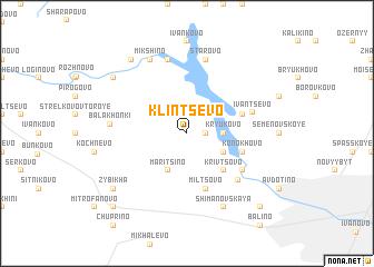 map of Klintsevo