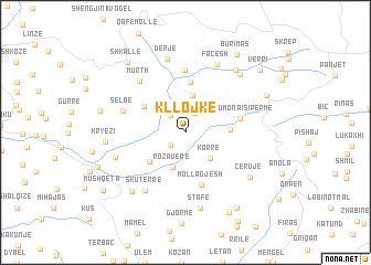 map of Kllojkë