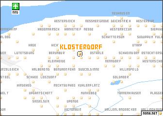 map of Klosterdorf