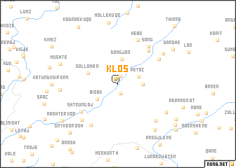 map of Klos
