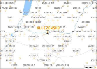 map of Kluczewsko