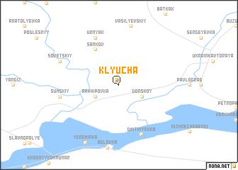 map of Klyucha