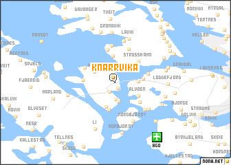 map of Knarrvika