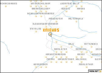 map of Kniewas