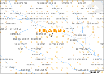 map of Kniezenberg