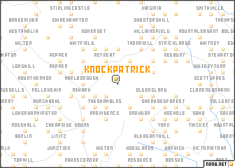 map of Knockpatrick