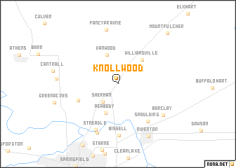 map of Knollwood