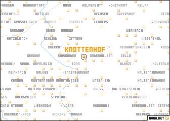 map of Knottenhof