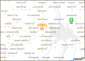 map of Kobel