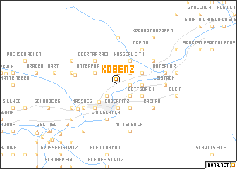 map of Kobenz