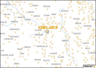 map of (( Kobiljaća ))