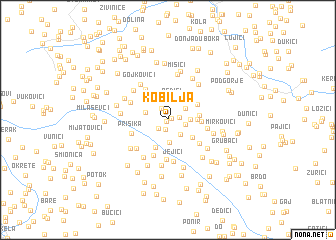map of Kobilja
