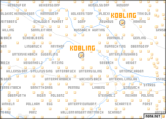 map of Kobling