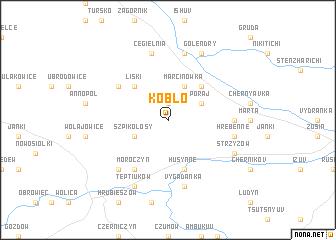 map of Kobło
