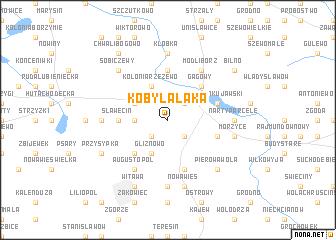 map of Kobylałąka