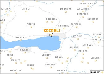Kocaeli Turkey map nonanet