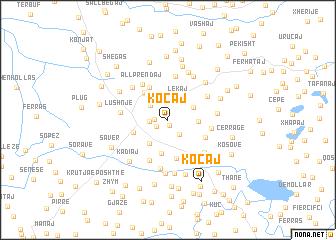 map of Koçaj
