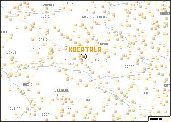 map of Kočatala