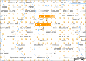 map of Kochberg