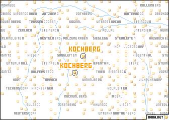 map of Kochberg