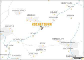 map of Kochetovka